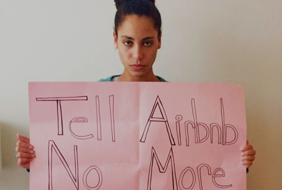 TELL AIRBNB: NO MORE STOLEN HOMES