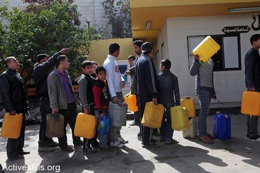 blockade-of-gaza-image-fuel-shortage