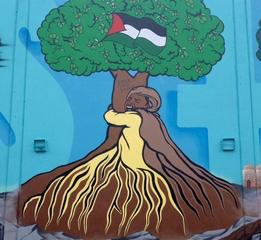 Emory Douglas Palestine Mural